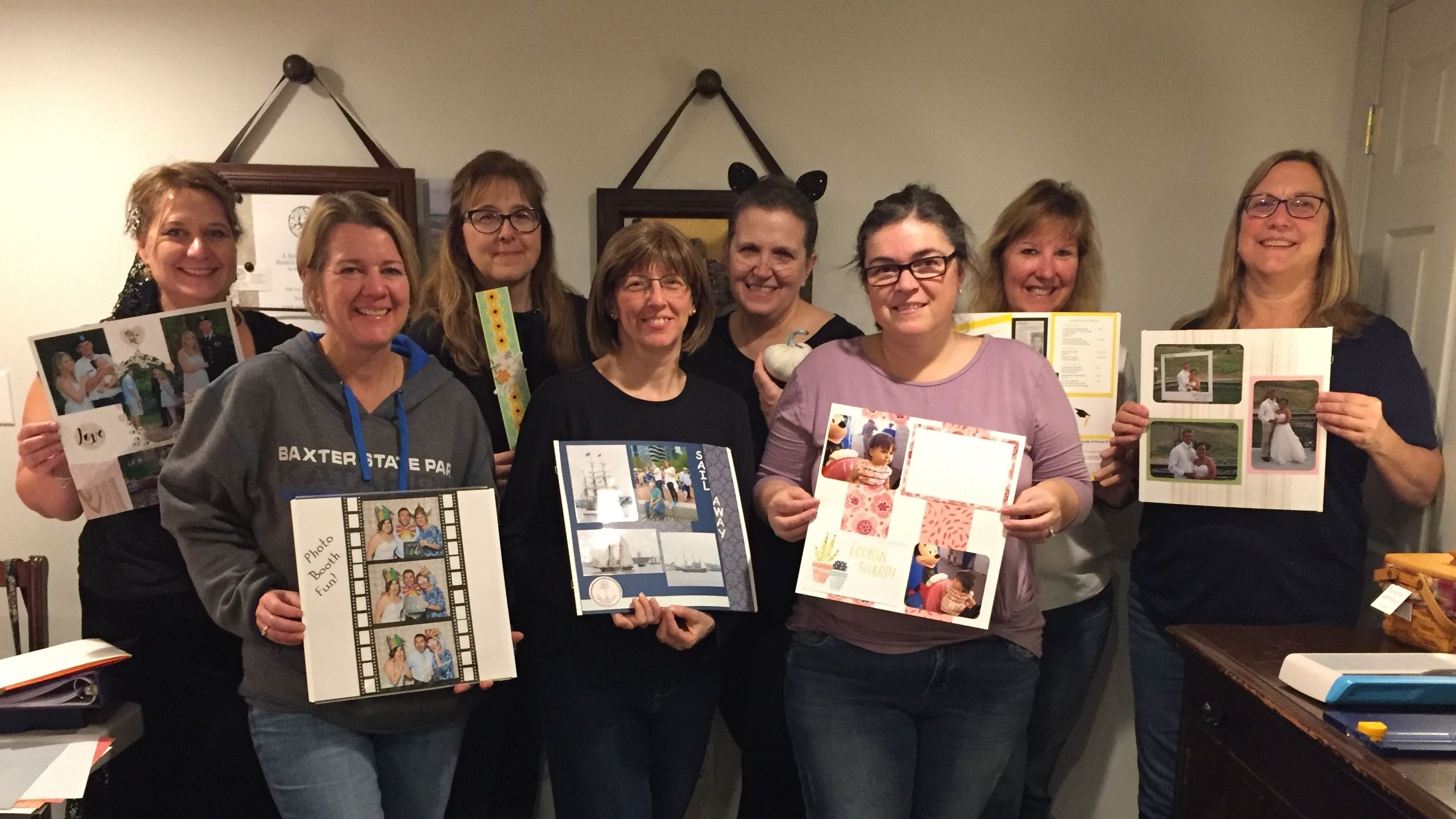 Attleboro Scrapbooking Meetup with Barbara