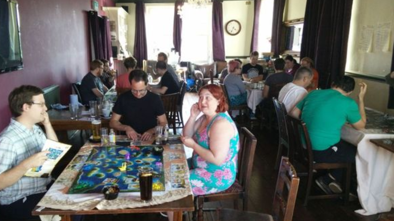 Fishponds gaming night - Cancelled due to Coronavirus