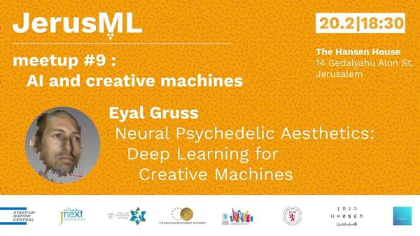 Jew Detector: JerusML Meetup #9 - AI And Creative Machines