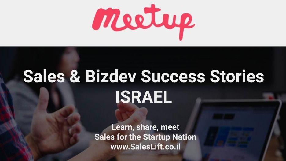 Sales & Bizdev Success Stories - Israel