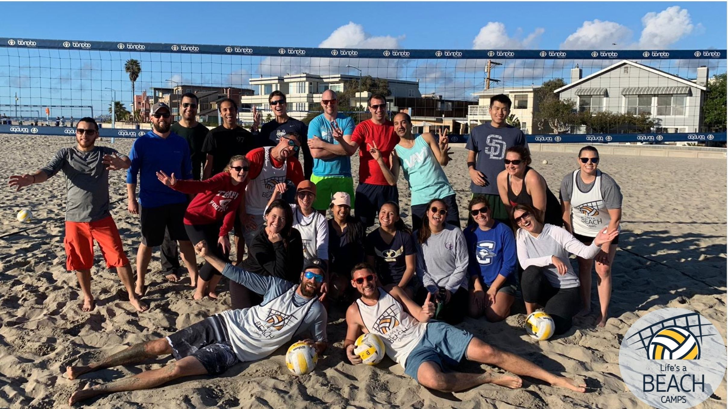 Learn & Play Beach Volleyball Meetup! Life's A Beach Camps