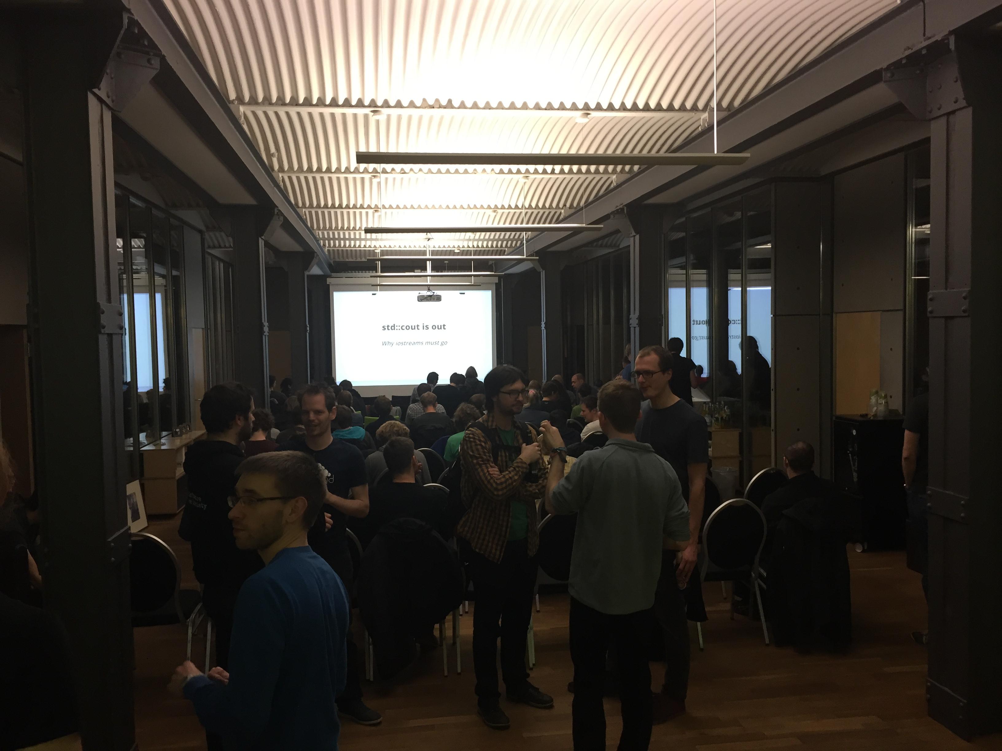 Die Berlin C++ Meetup Gruppe