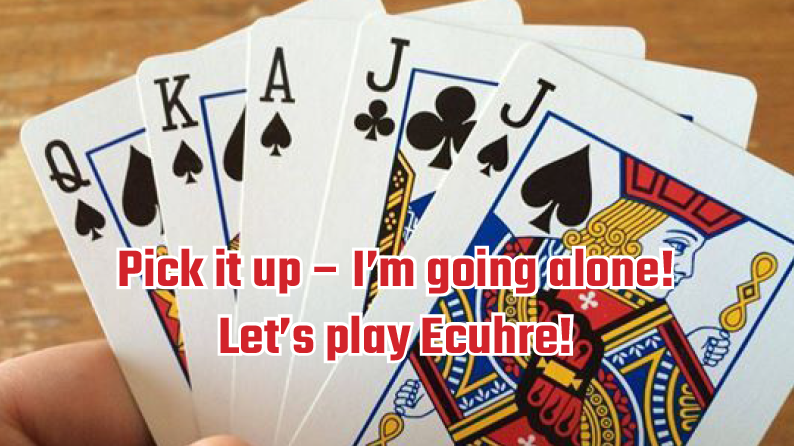 Marin County Euchre group (card game)