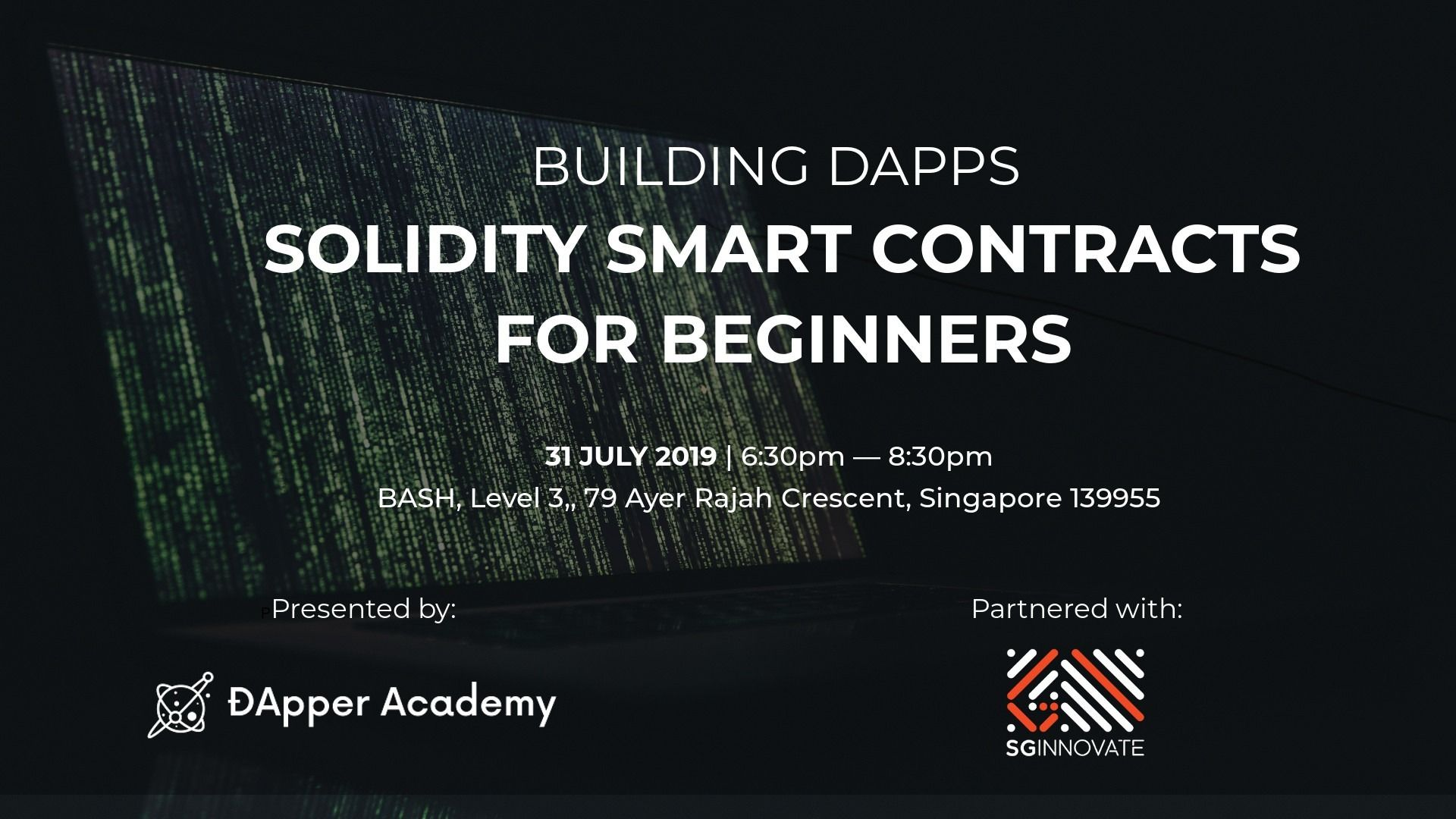 Web3 Singapore - Learn Blockchain & ÐApp Development