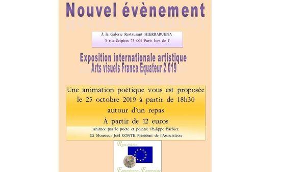 Soirée Poésie Au Sein Dune Exposition Dart Meetup