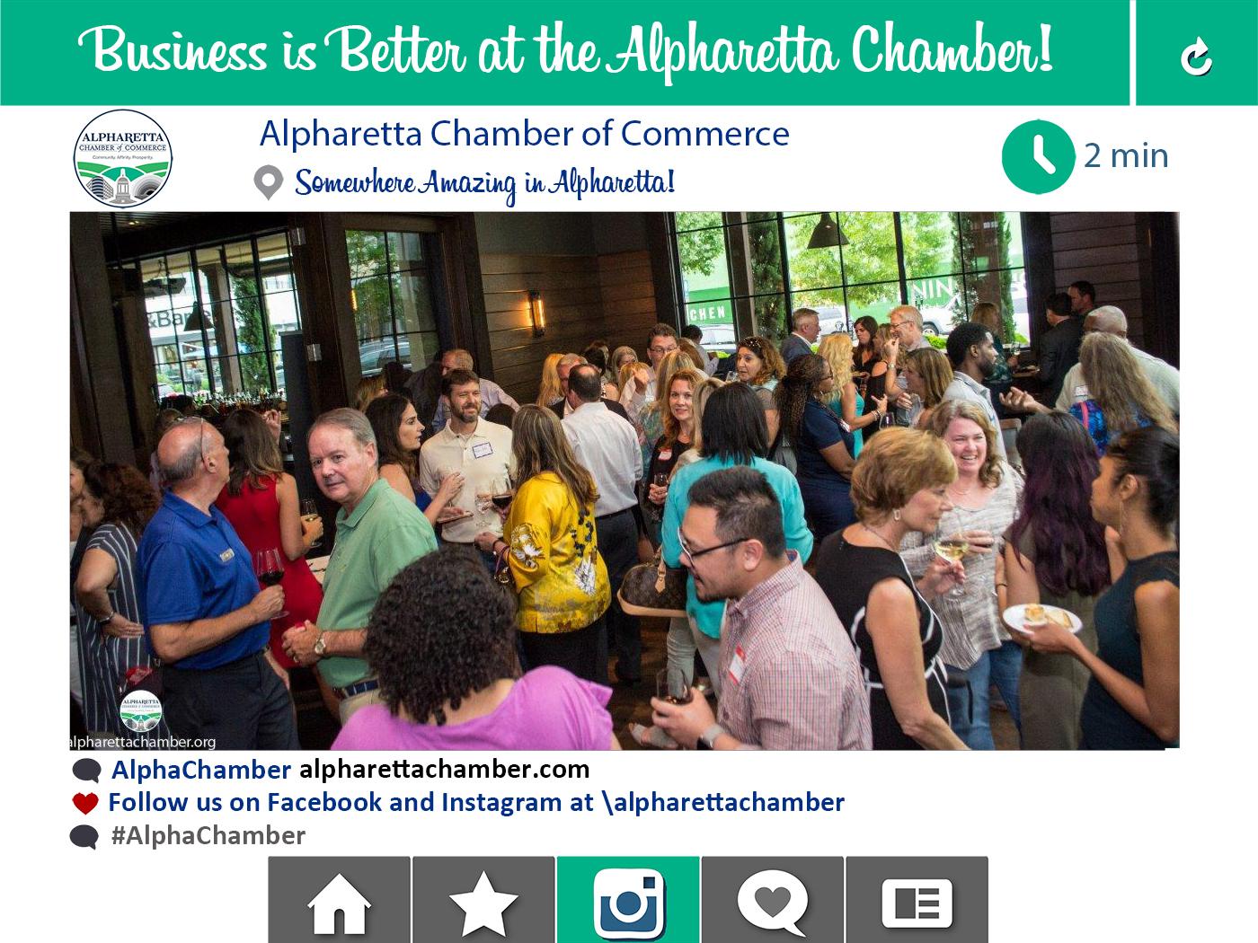 Alpharetta Chamber Networking