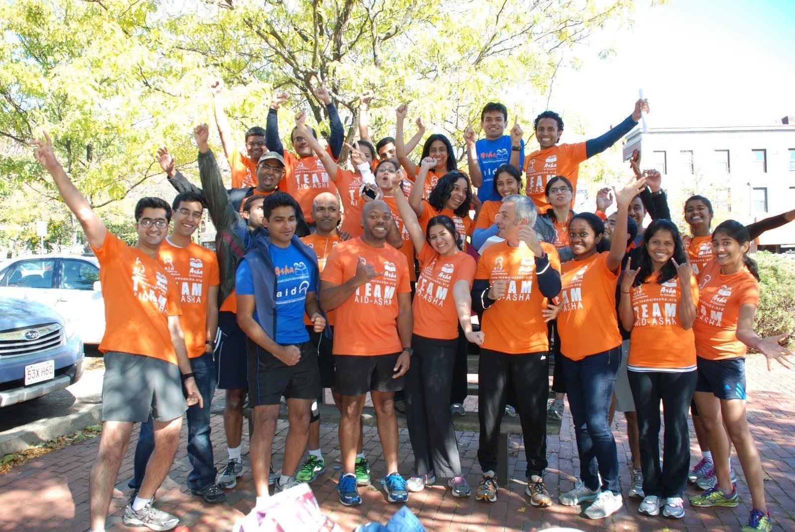Beginner friendly half/full marathon training - TeamAIDAsha