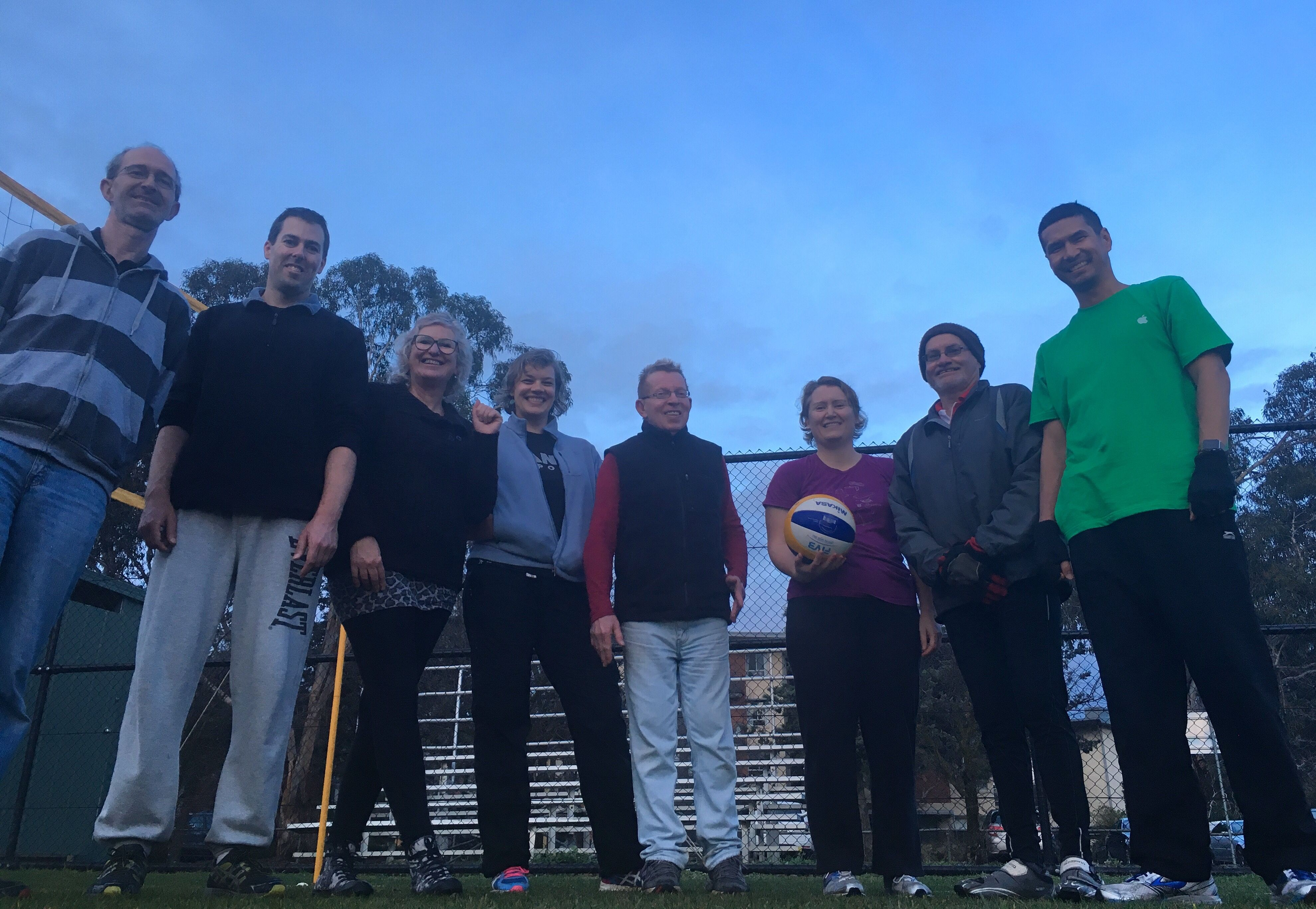 Canberra Spikers' Outdoor Social Volleyball
