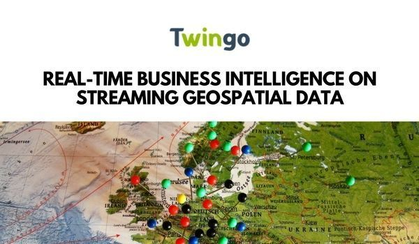 Real-time Business Intelligence on Streaming Geospatial Data