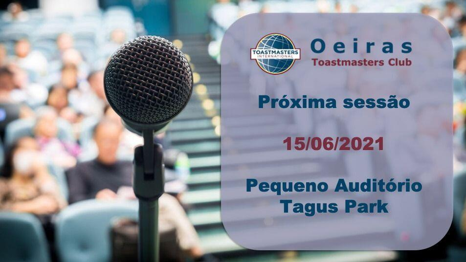 Sessão Public Speaking Oeiras