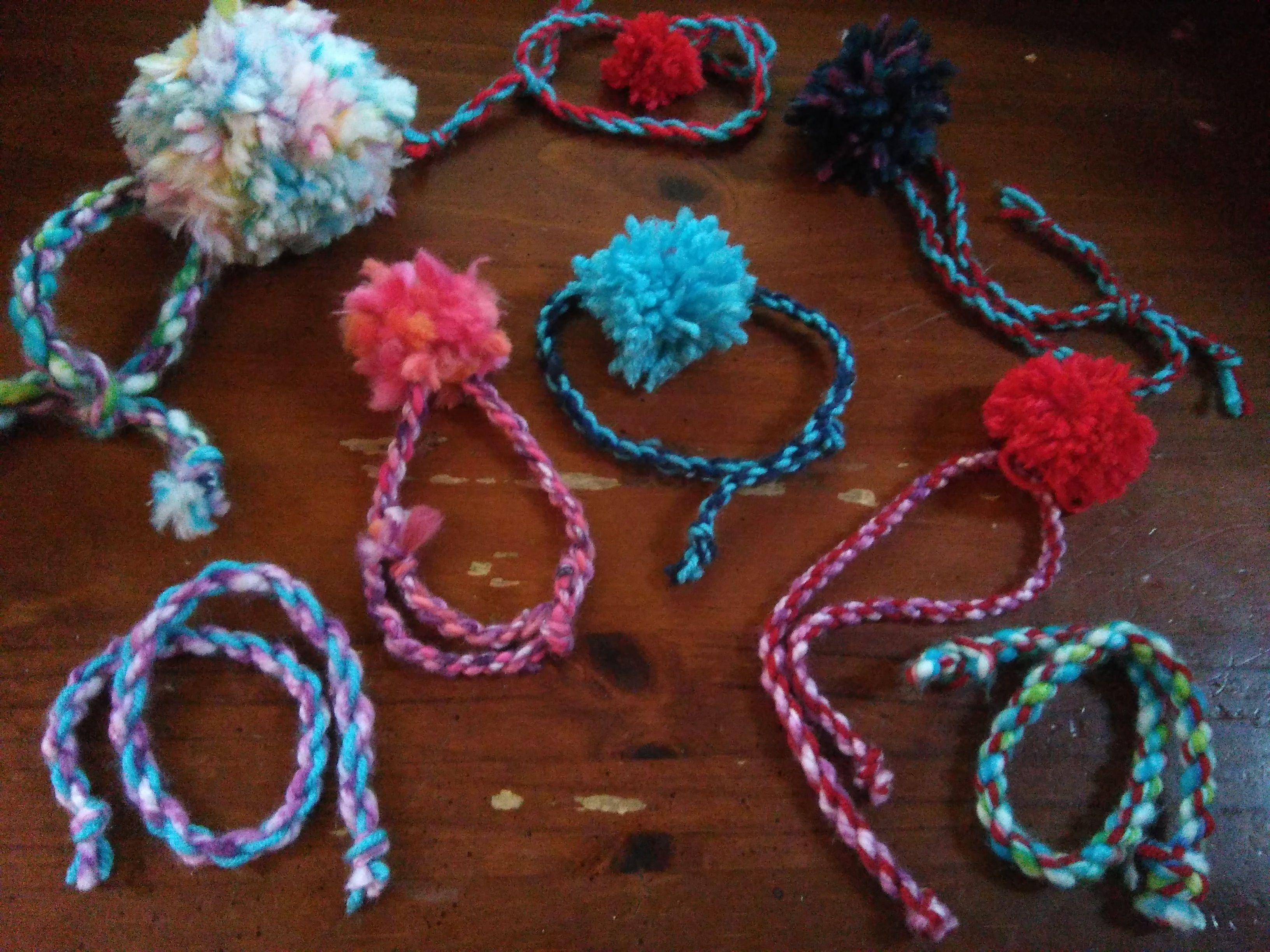 Image result for pompoms and twisted cords