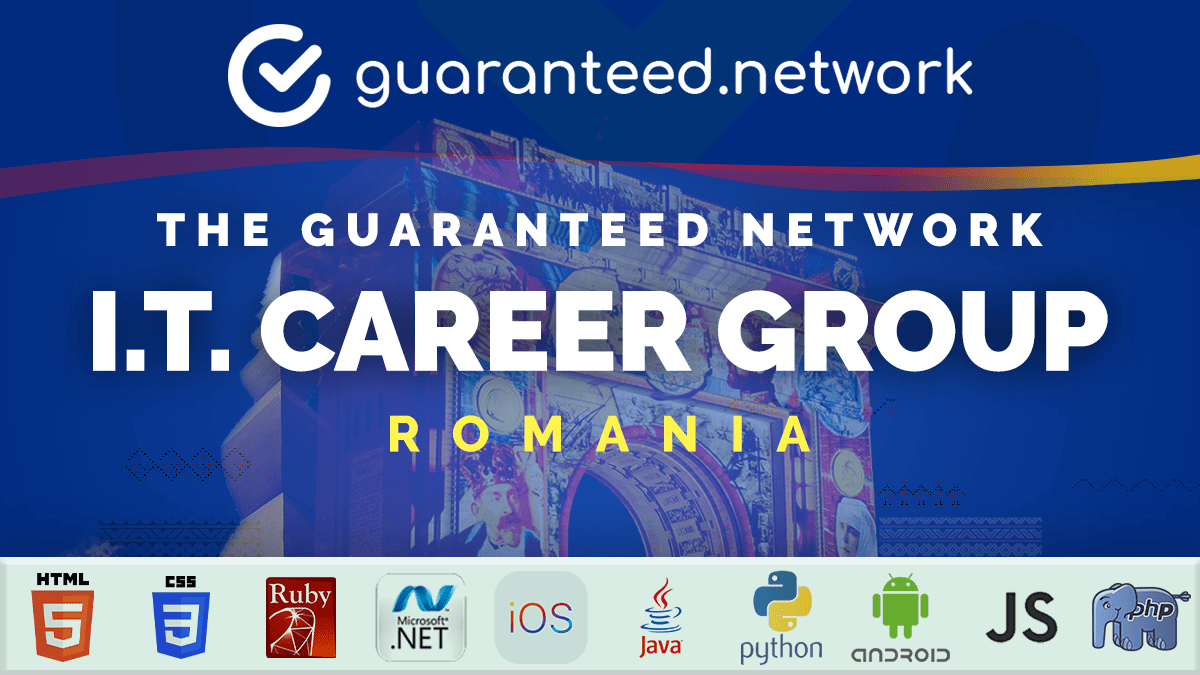 The Guaranteed Network's Romania I.T. Career Group