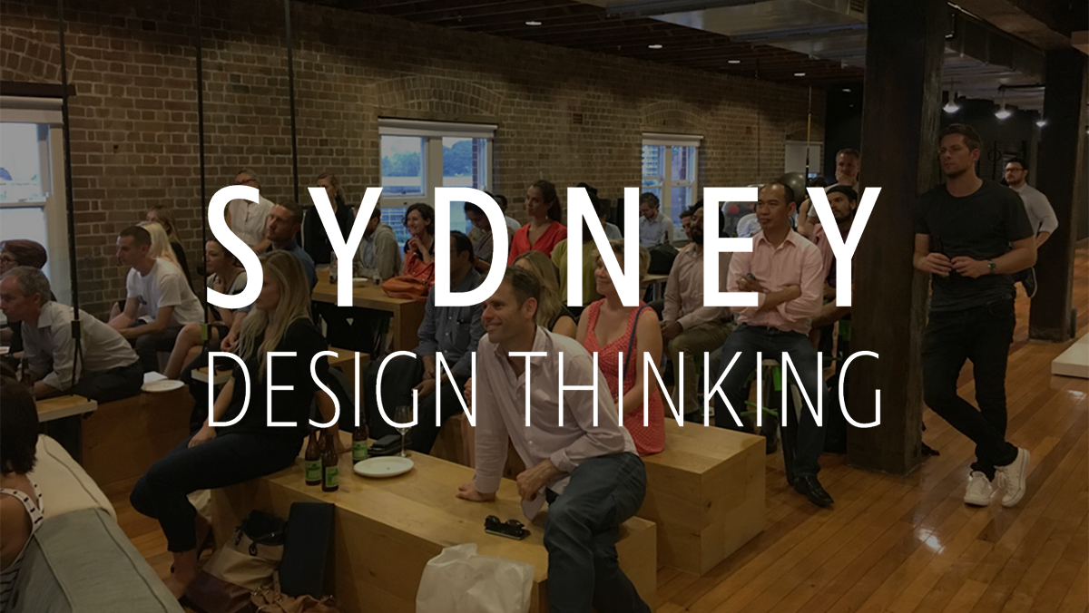 Sydney Design Thinking Meetup