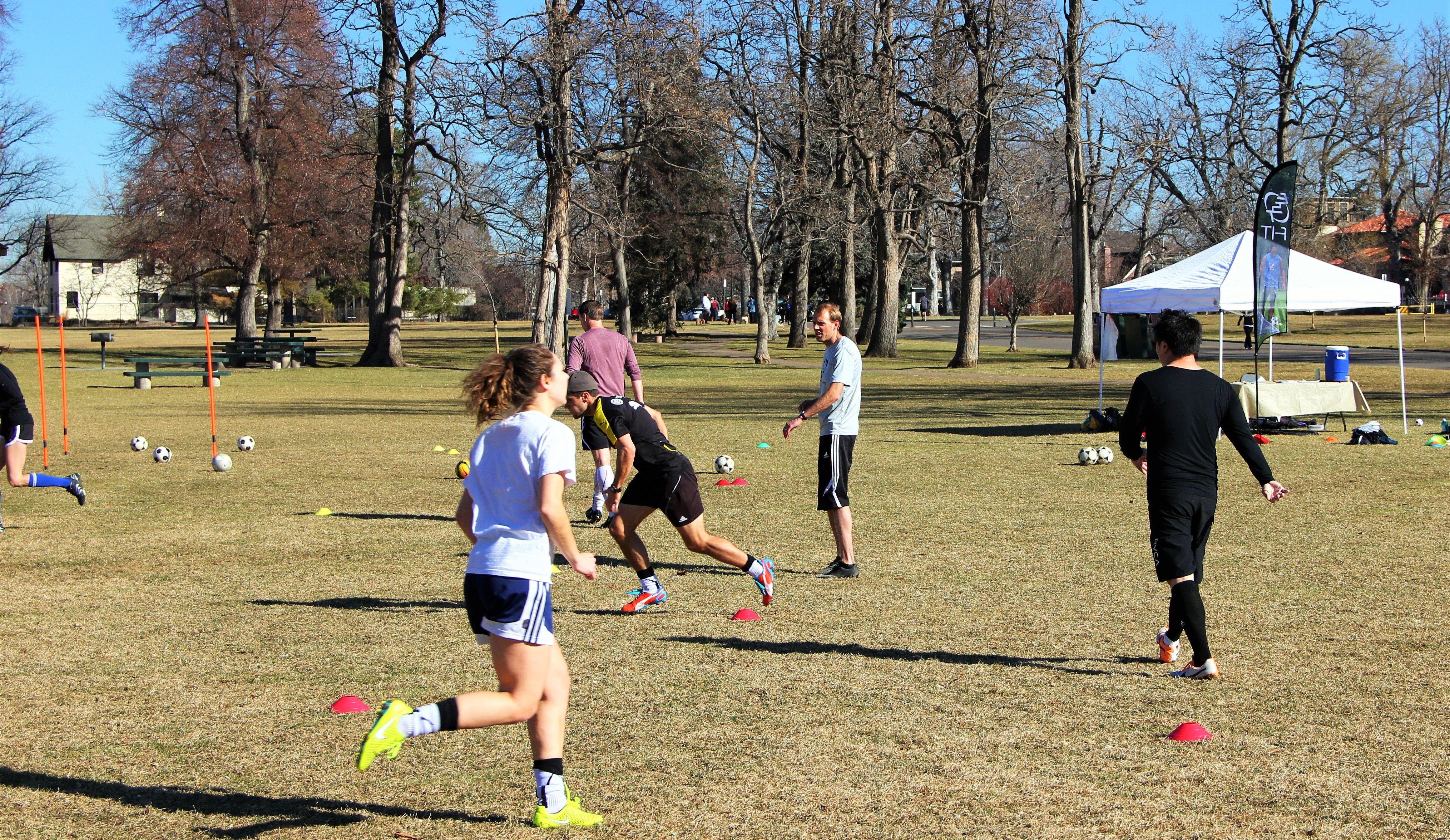 Adult Soccer Training 116