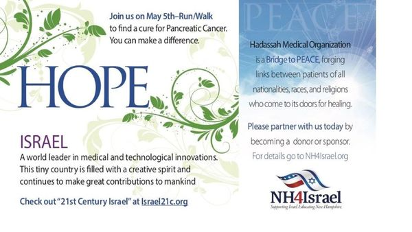 RUN/WALK for Healing for Pancreatic Cancer Research in Derry