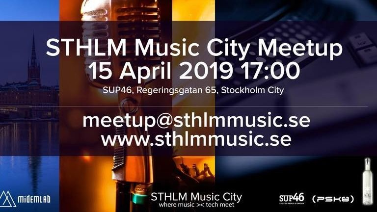 STHLM Music Tech MeetUp