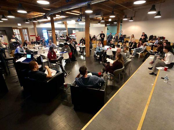 o que é meetup startup