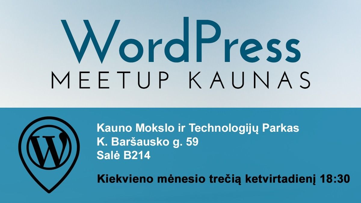 Kaunas WordPress Meetup