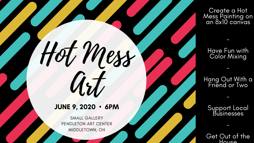 Hot Mess Art Painting