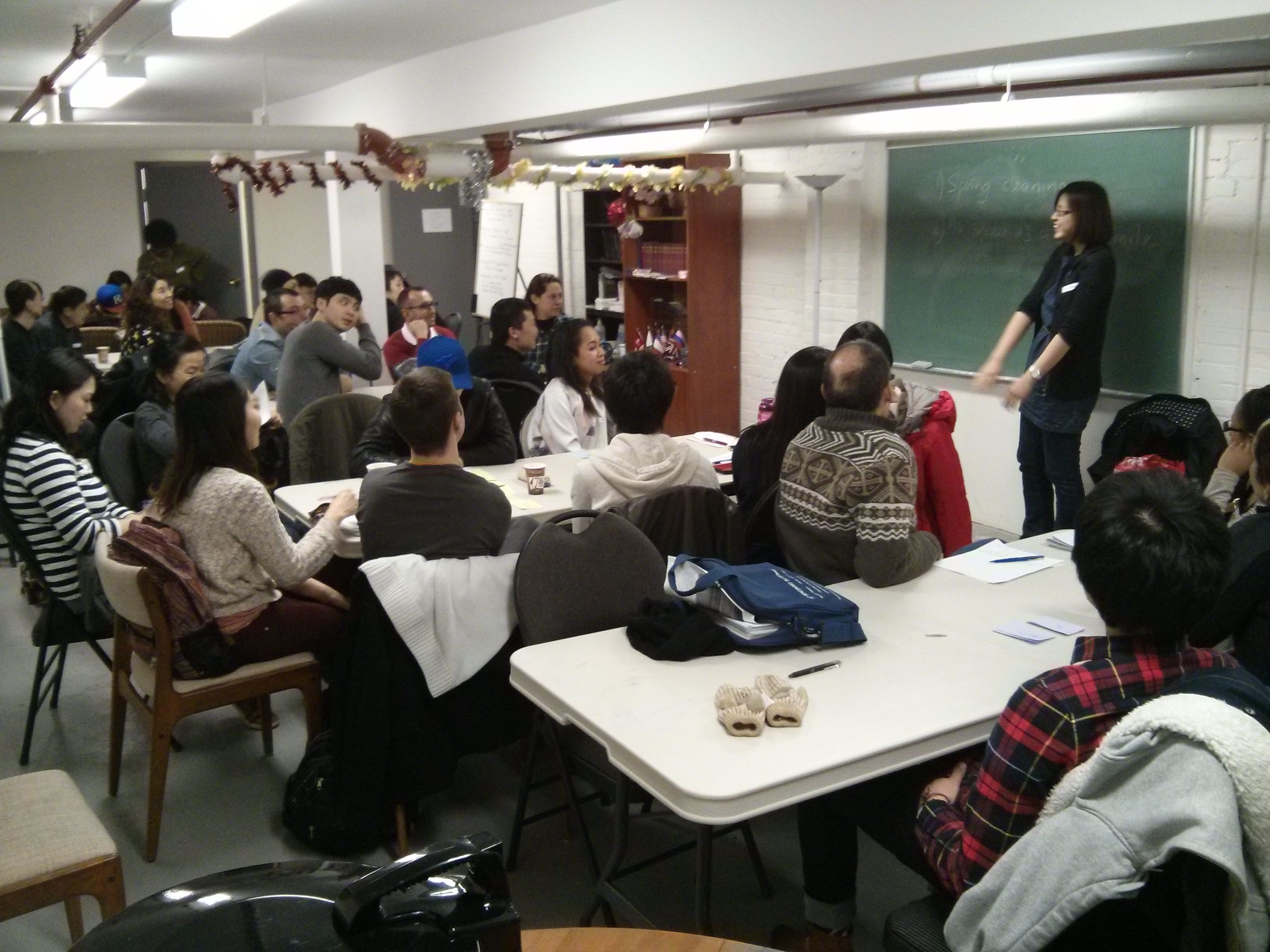 Spadina and College English Conversation & Cultural Exchange