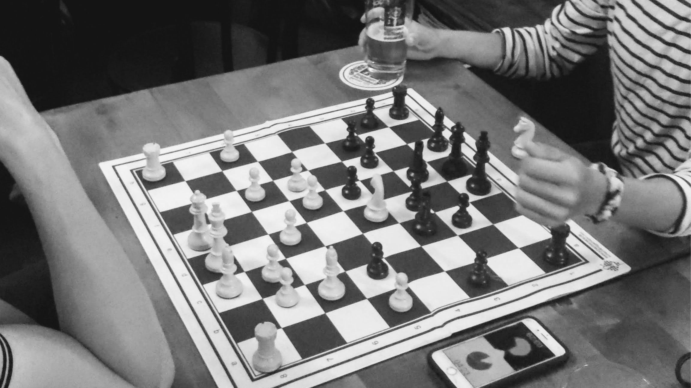 Weekly Chess evening at the Café- 16.09.2021