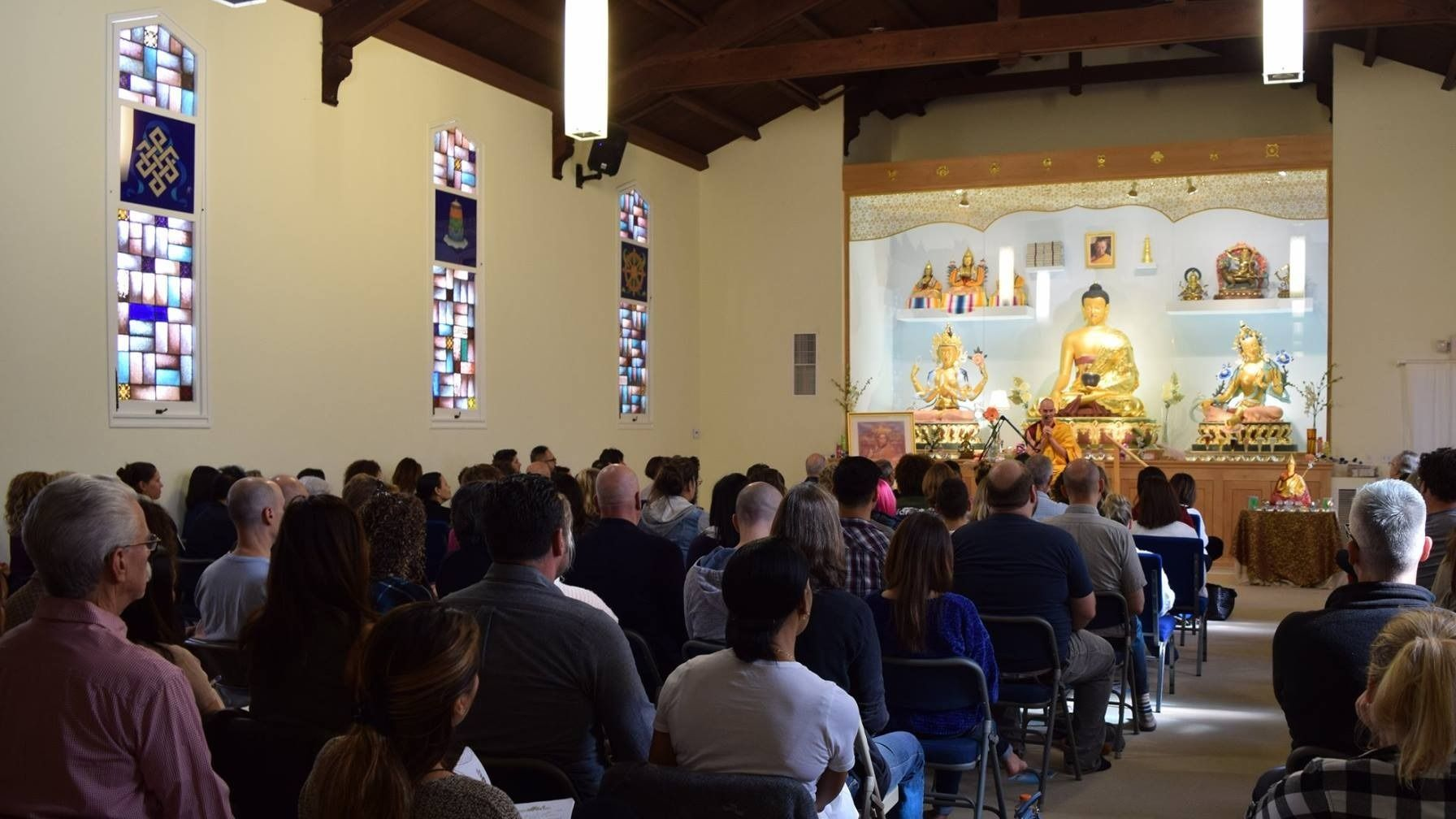 Meditation and Modern Buddhism in Hollywood (Los Angeles)