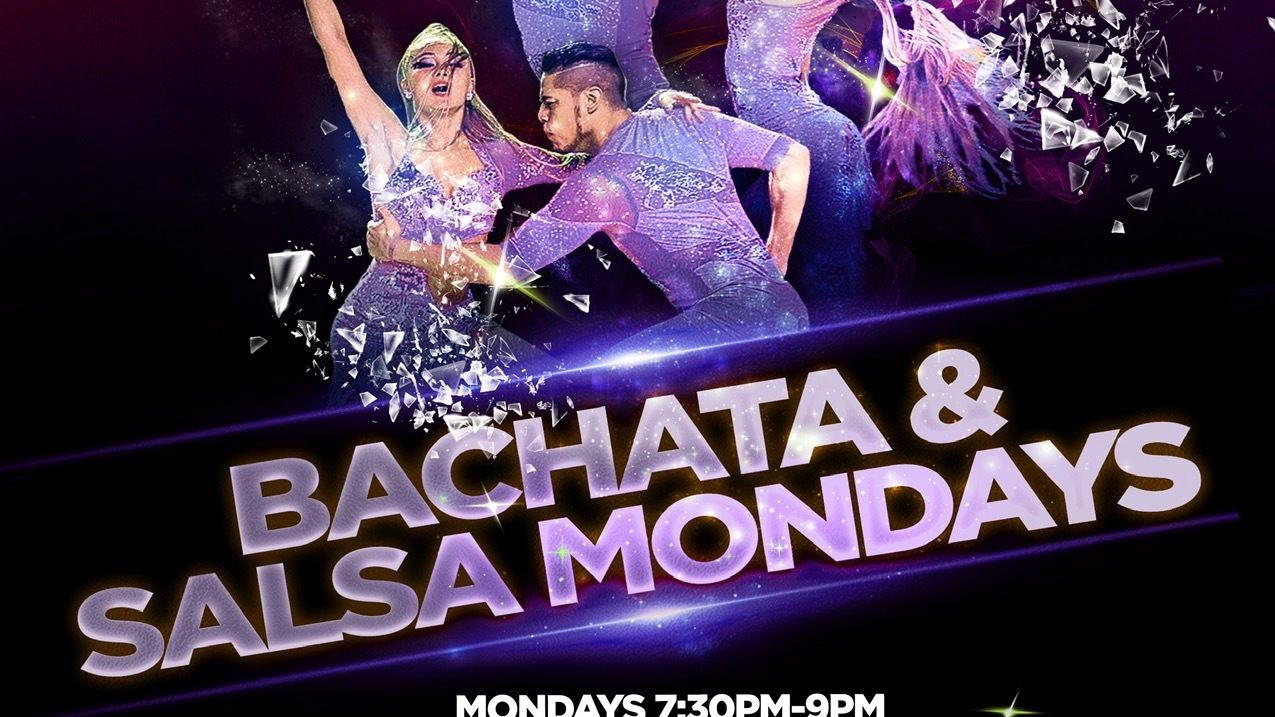 Mondays Bachata & Salsa Dance Lessons