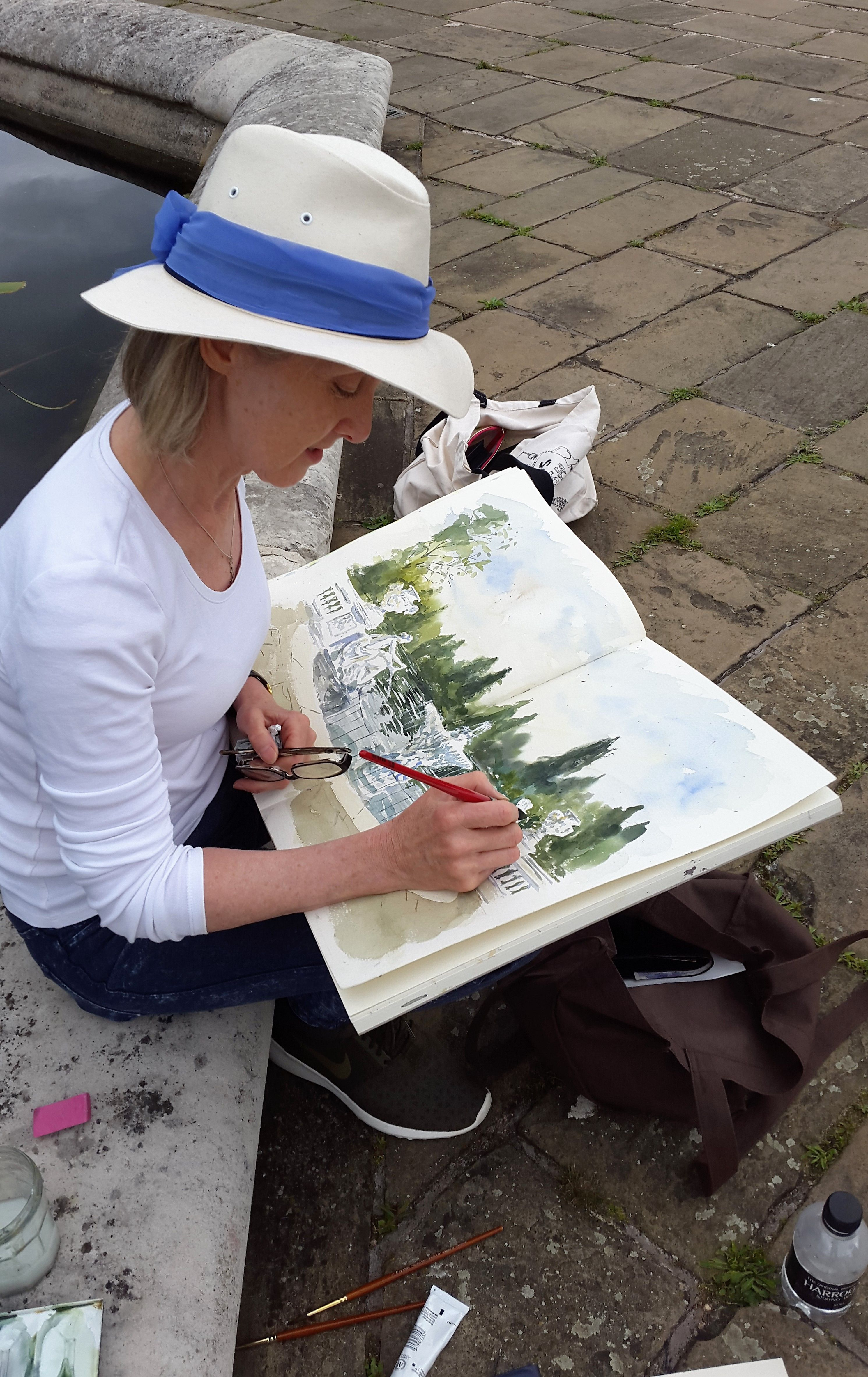 Drawing London on Location