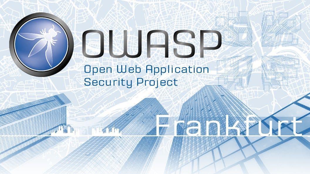 IT-Security Stammtisch Frankfurt (OWASP, u.w.)