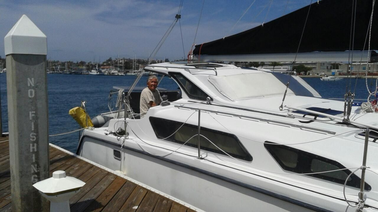 Coronado Catamaran Sailing