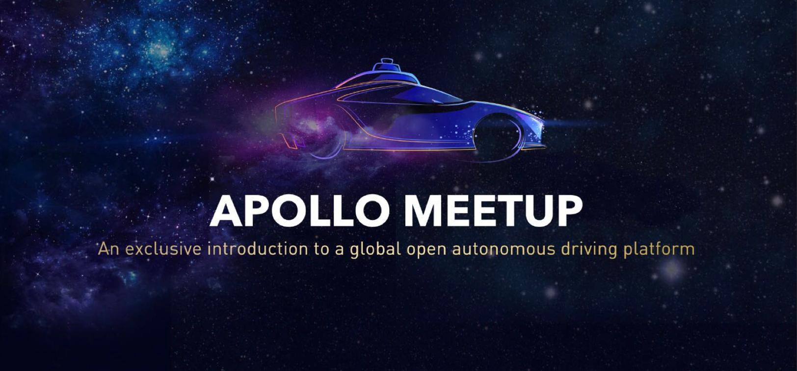 Apollo Auto: Open Autonomous Driving Platform Group