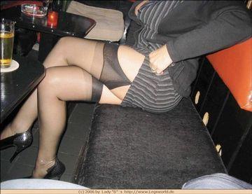 Garter Belt And High Heels