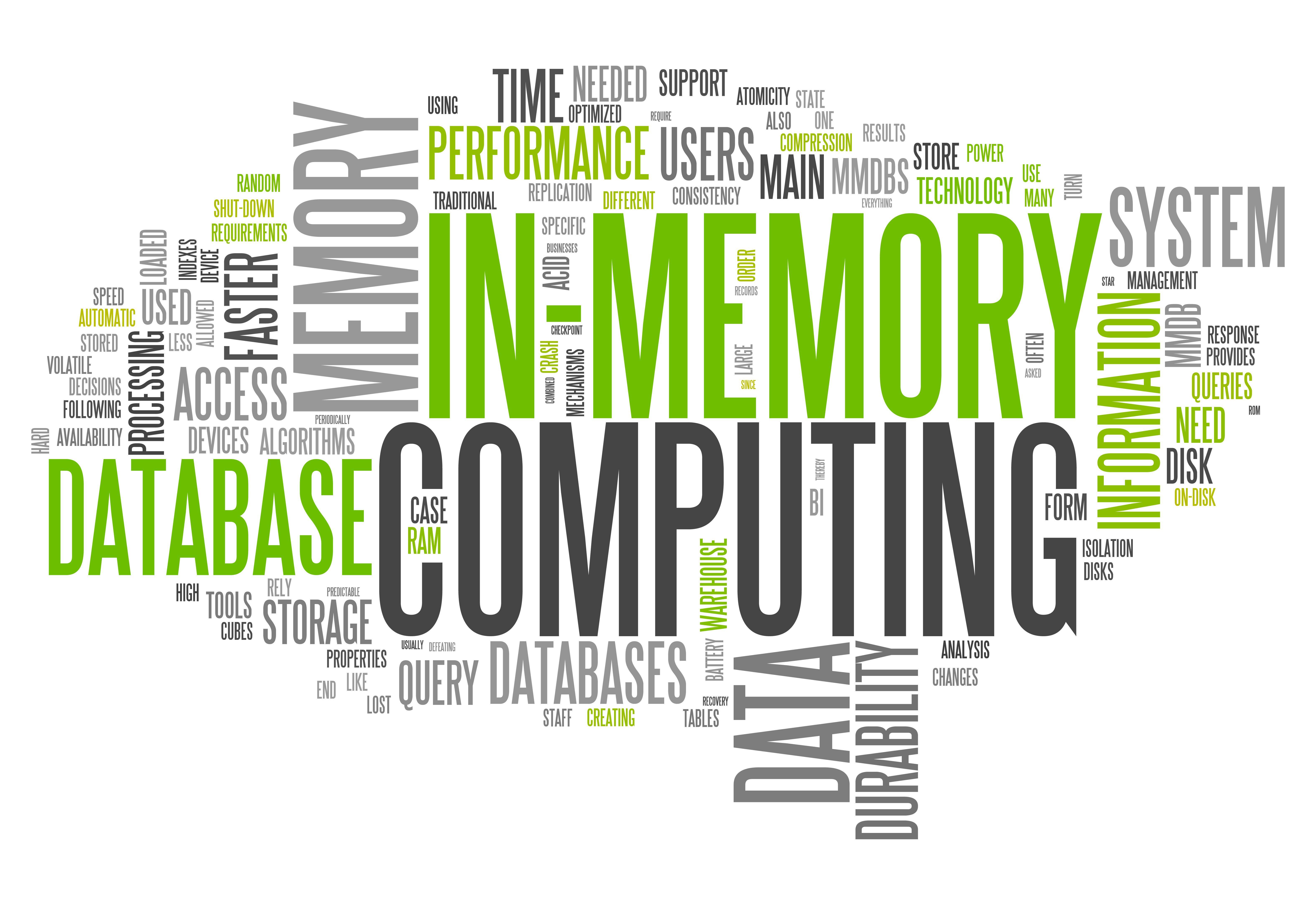 Paris In-Memory Computing Meetup