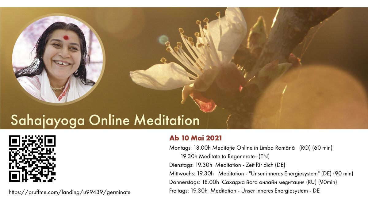 Online: Meditation - Unser inneres Energiesystem (DE) (90 min)
