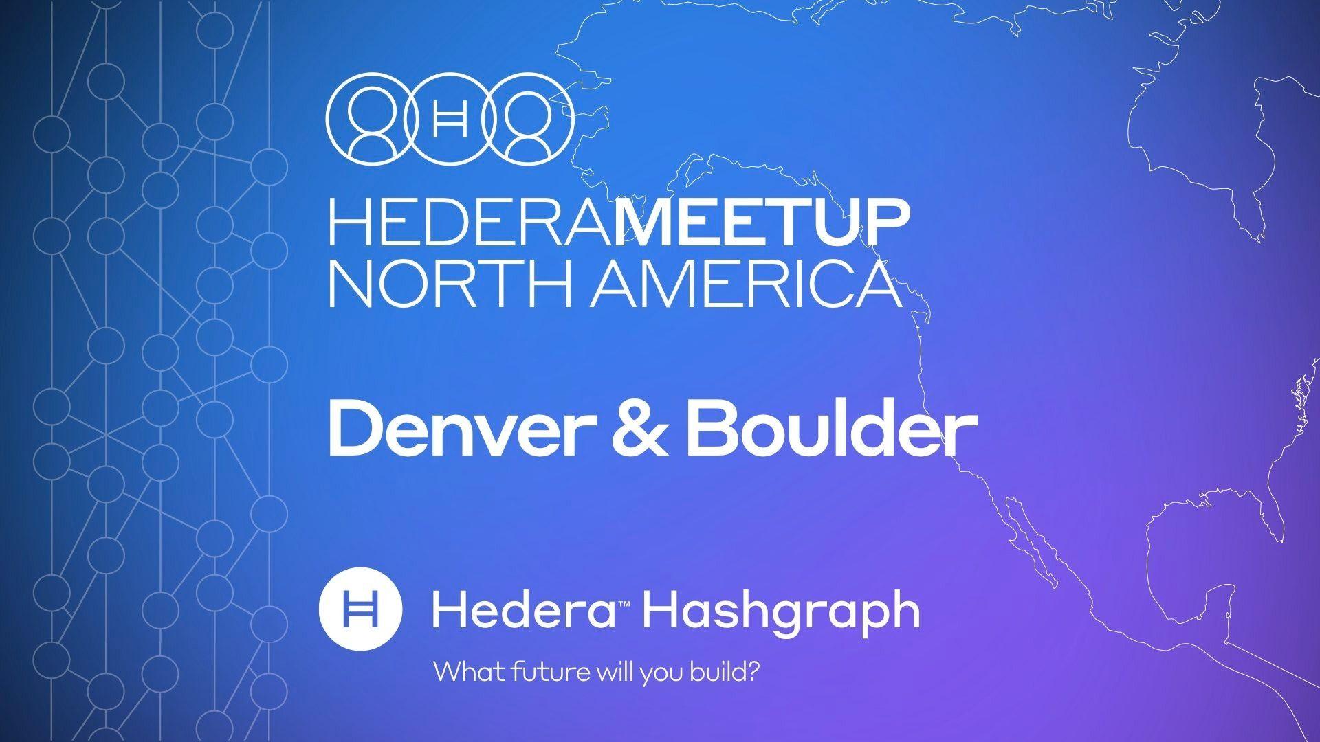 Hedera Hashgraph - Denver & Boulder