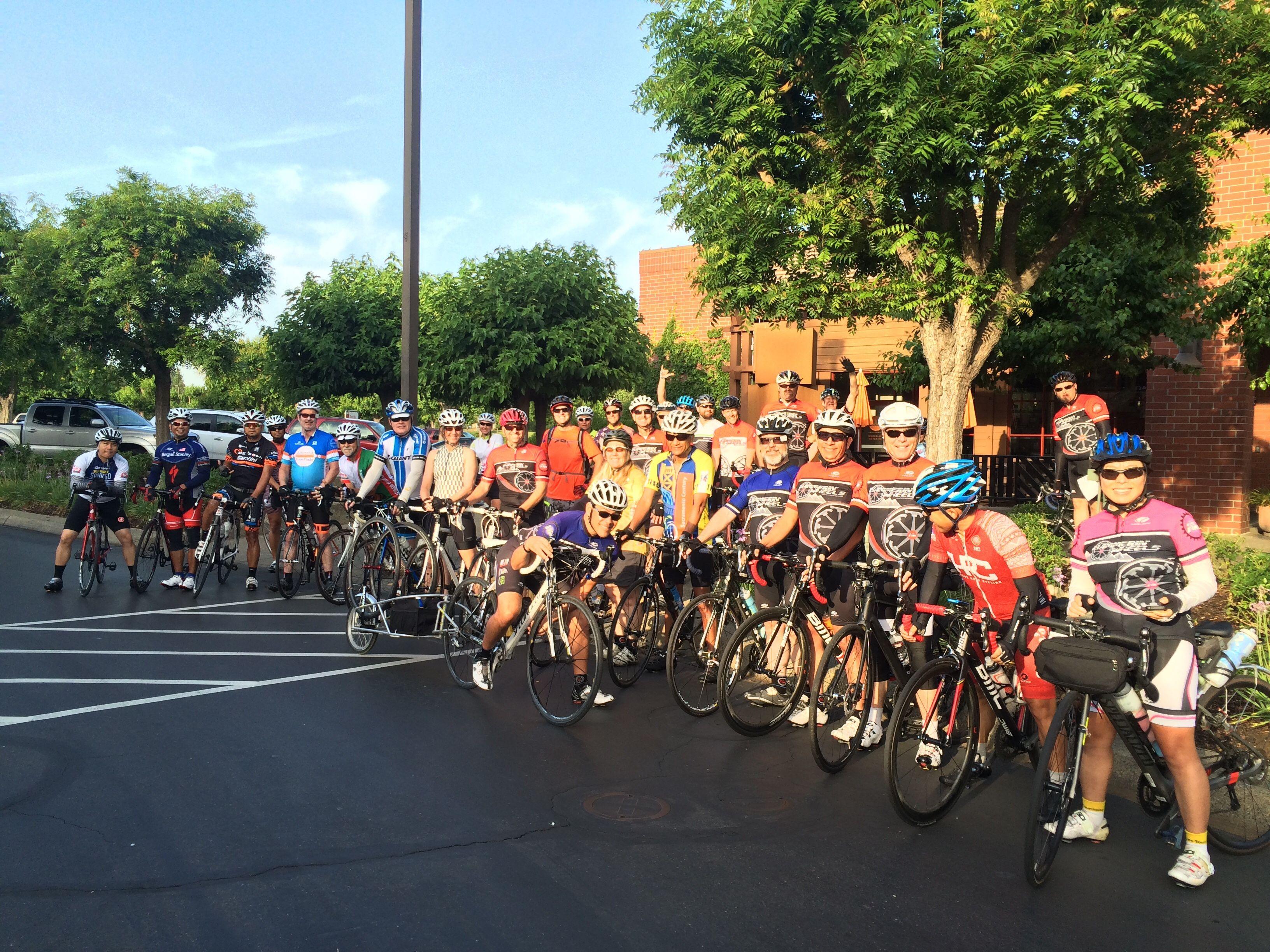 The Hammerin' Wheels Road Bike Club