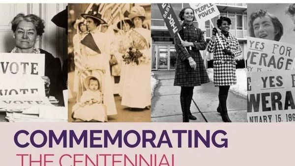 Commemorating the Centennial of Women's Suffrage