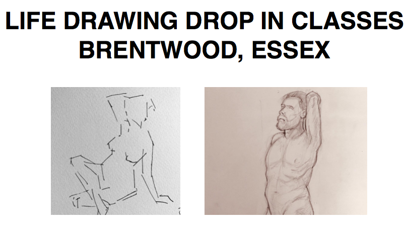 Life Drawing Class in Hutton (CM13 1LP)  | Meetup