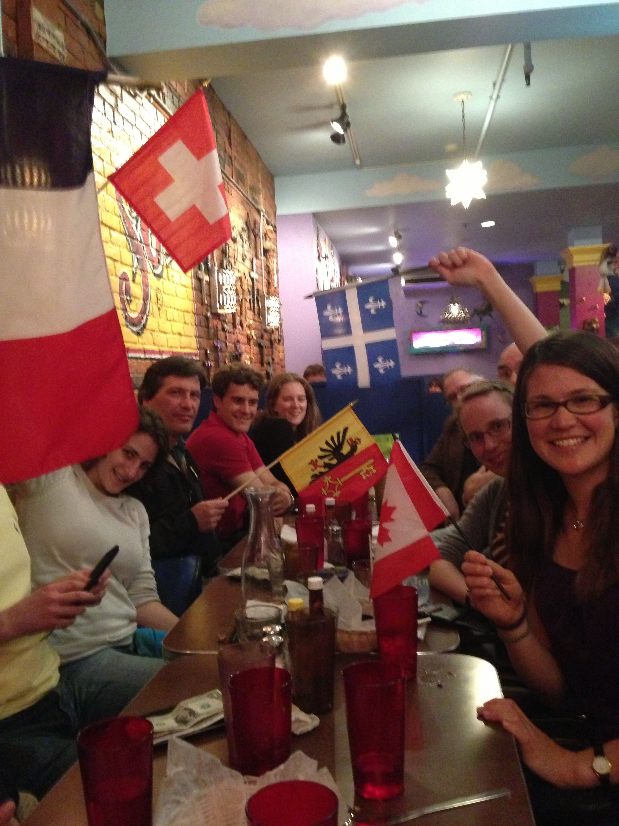 The Ithaca French Language Meetup Group Month