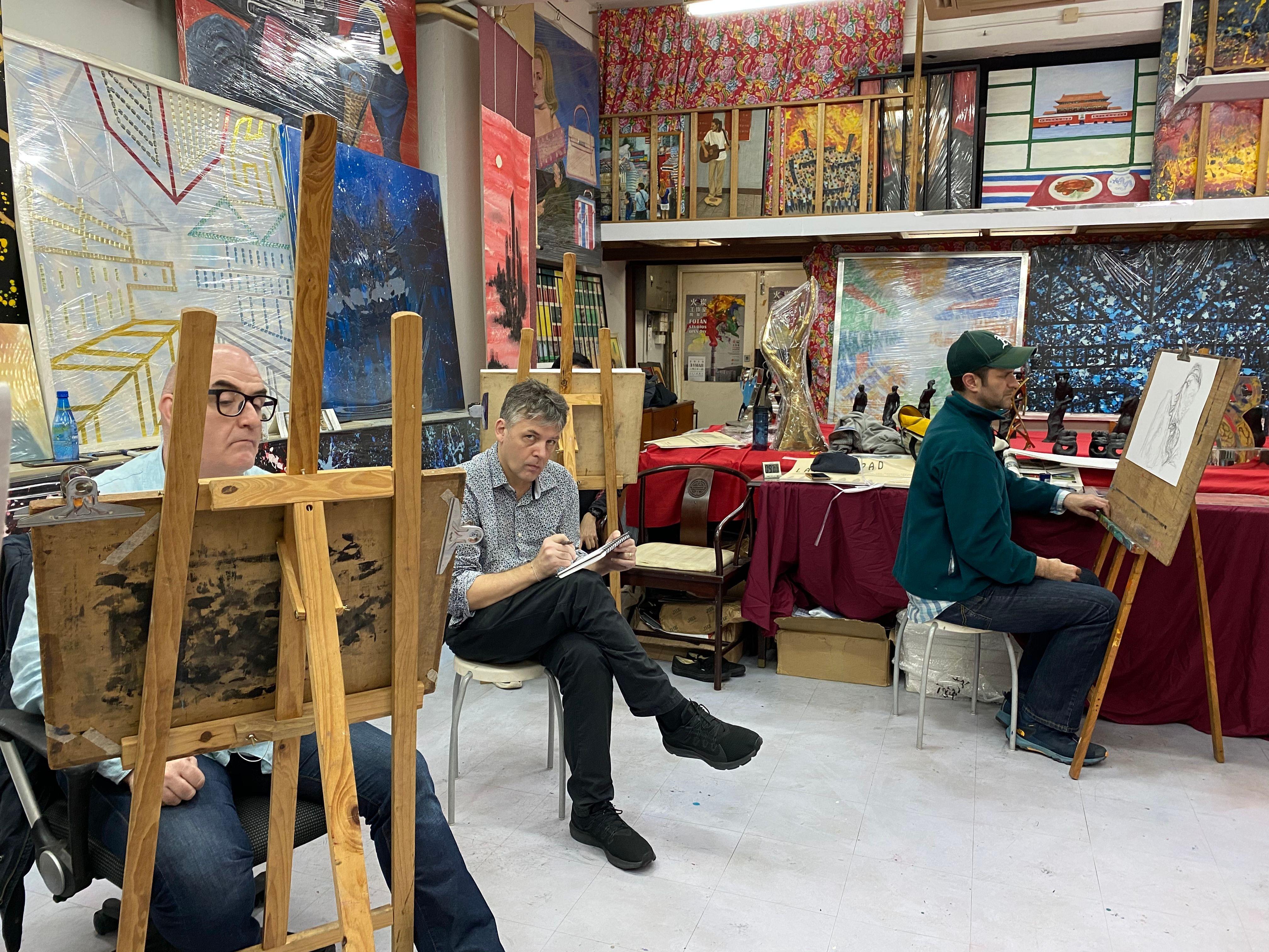 Hong Kong Art Meetup for Painting, Life Drawing & art events