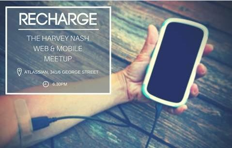 Recharge - The Harvey Nash Mobile and Web Meet Up