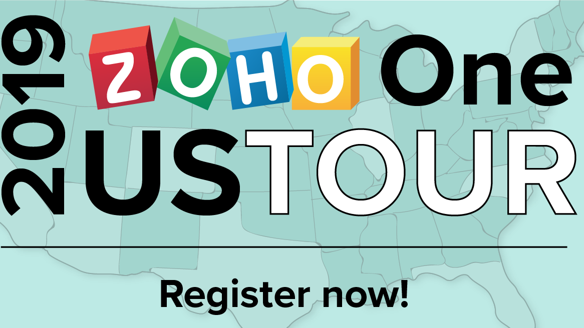 Educational Opportunity: Optimize your business w/ Zoho One