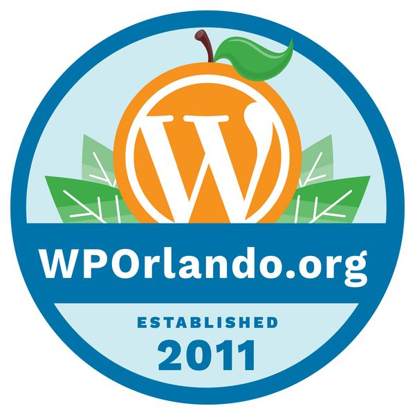 meetup logo for WordPress Orlando