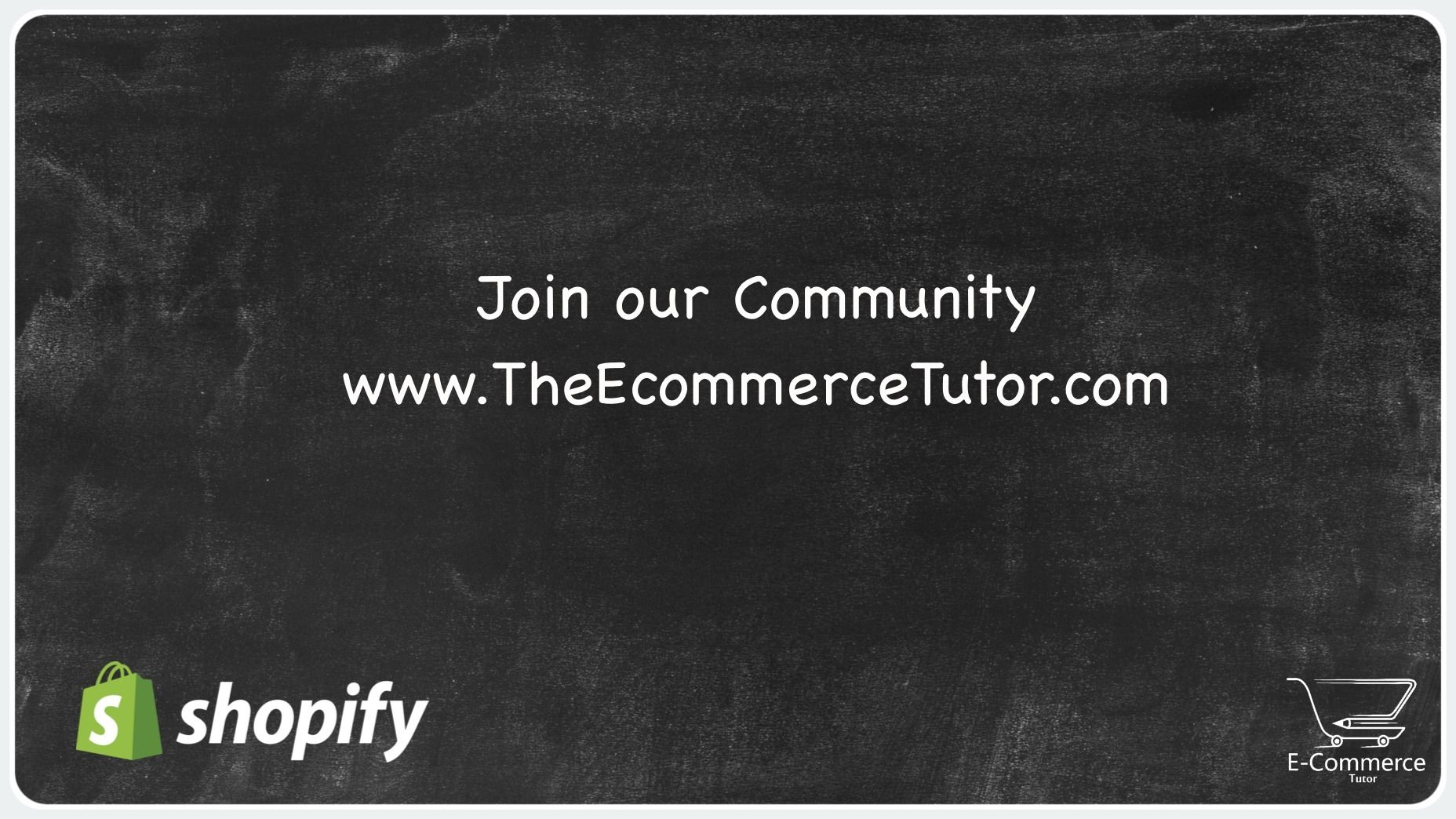 Building an E-Commerce Business with Shopify