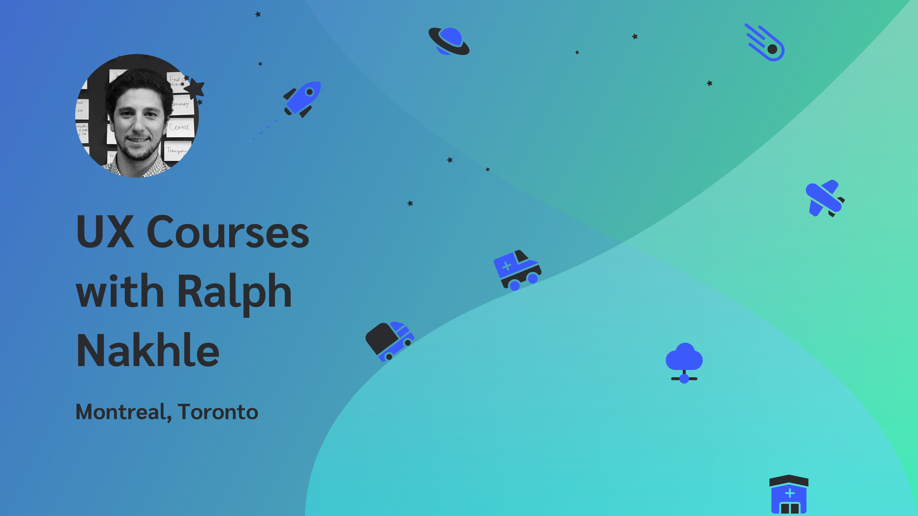 UX Courses with Ralph Nakhle