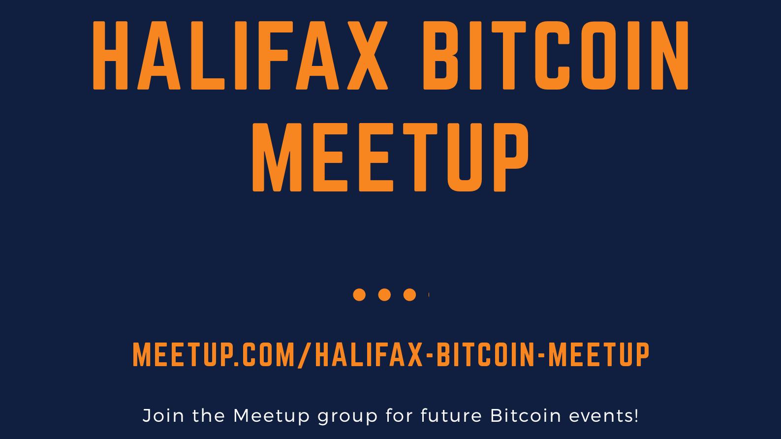 Halifax Bitcoin Meetup