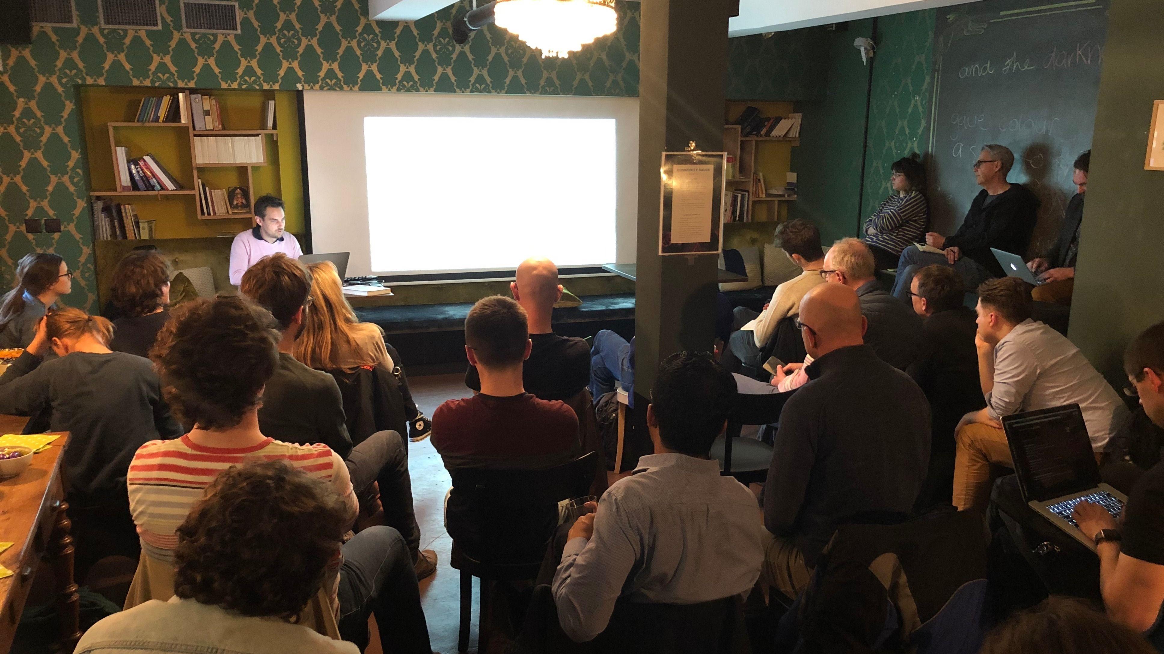 Pantalks - tech & non-tech talks @ Colab Zürich