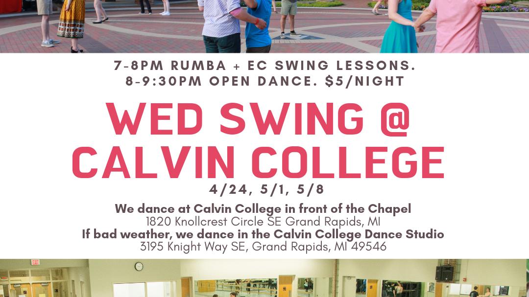 Swing Dancing w/Lessons Grand Rapids Original Swing Society
