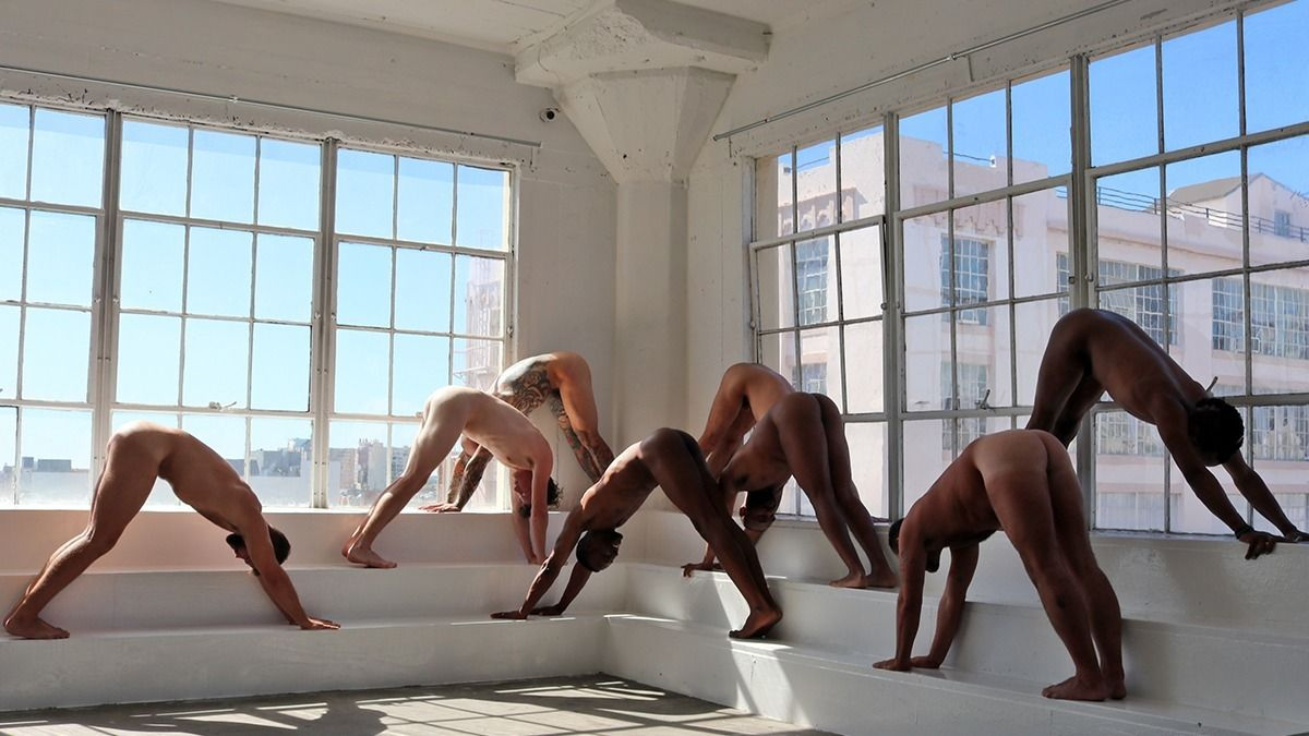Naked Men's Yoga+Tantra with Brandon Anthony (Chicago)