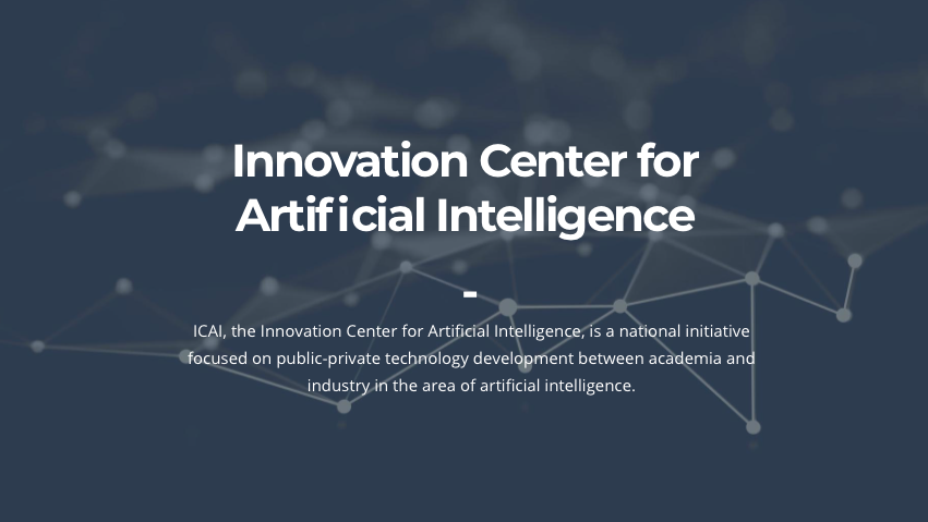 Innovation Center for Artificial Intelligence Meetup
